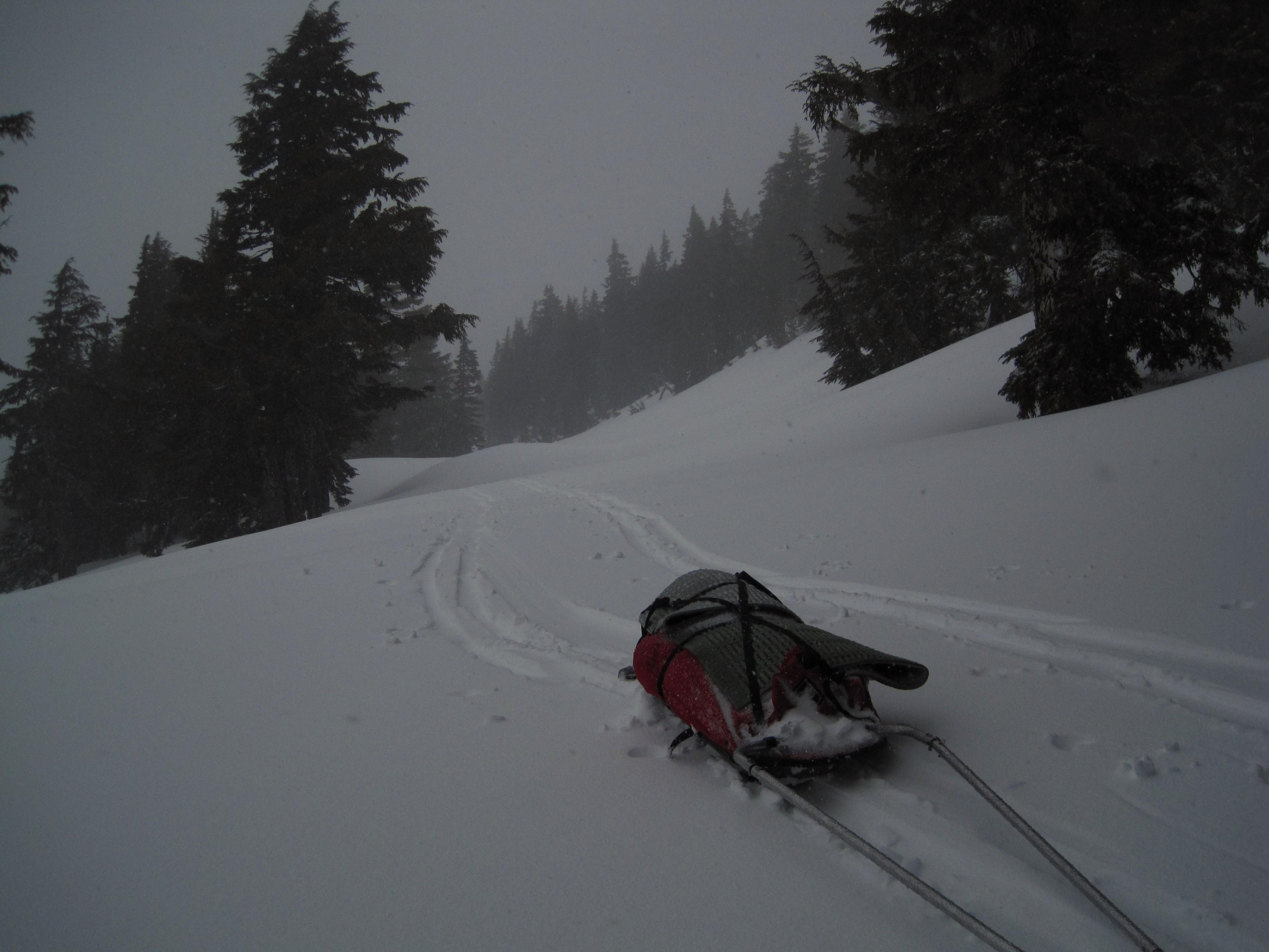 Crater Lake Spring Circumnavigation On Skis Take A
